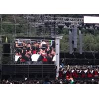 China Super Clear 3D Video p6 outdoor led screen Hanging On Truss For Concert Show wholesale