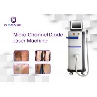 Buy cheap 808nm Diode Commercial Laser Hair Removal Machine Permanent Micro Channel from wholesalers
