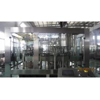 China Carbonated Water Filling Machine / 275ml Glass Bottle Soft Drink Filling Machine on sale