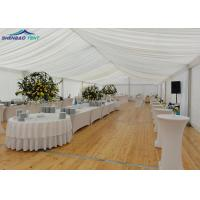 China Customized 20m Width Aluminium Frame Marquee / Wedding Party Tent wholesale