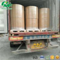 China Nontoxic 55gsm Thermal Paper Jumbo Rolls , Jumbo Paper Roll High Rubbing Resistance wholesale