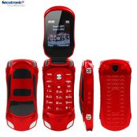 Buy cheap 1.8 Inch Screen Flip Model Simple Mobile Phones 1500mAh Battery Car Shapped Setro F15 from wholesalers