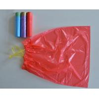 China Reusable Tall Kitchen Garbage Bags , Gravure Printing Strong Rubbish Bags wholesale