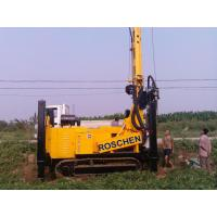 China 400m Water Well Drilling Rig Machine With Eaton Hydraulic Motor 12T Feed Force wholesale