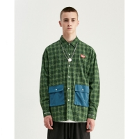 China Quilted Flannel Check Men Shirts wholesale