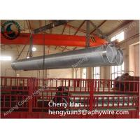 China Stainless Steel Wedge V Wire Screen , Metal Well Pipe Screens Liquid Filter wholesale