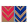 China Hardcover Custom Journal Printing Flocking Kraft Paper Sewing Glued Binding wholesale