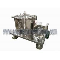Buy cheap All Stainless Steel GMP Standard Top Discharge Basket Centrifuge / Manual from wholesalers
