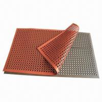 China Anti-fatigue rubber mat for kitchen and workshop on sale
