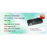 Buy cheap Compatible HP CE505A/X Toner Cartridge with Chip from wholesalers