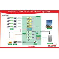 Buy cheap Stable / Reliable Hybrid Solar System Single Phase For Outdoor Telecom Base from wholesalers