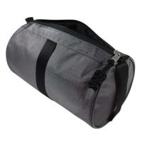China Ripstop Nylon Travel Toiletry Bag / Toiletries Bag Cylindrical Shape Zipper Closure on sale