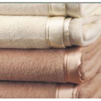 China 100% PURE SILK BLANKET WITH SILK BINDNG EDGING  -ALL COLOR AVAILABLE on sale