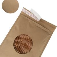 China Easy Recycle Rigid Mailer Envelopes Brown Kraft Cover Honeycomb Paper Eco Friendly wholesale
