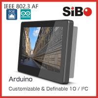 China SIBO 7 Inch Tablet Q896 With Glass Wall Mount Bracket LED Light For Meeting Room Ordering wholesale