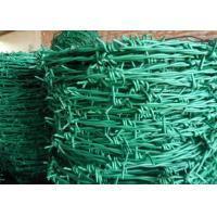 China Normal Twist / Reverse Twist Barbed Wire Fence 450mm - 960mm Diameter For Prisons wholesale