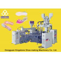 Three Color TPR Plastic Shoes Making Machine With Double Proportional Pressure Control