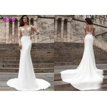 China Beach series button back Bohemian wedding dress Mermaid Turkey 2019 bridal gown wholesale
