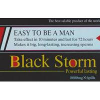Buy cheap Black Storm 8000mg Sex Enhancement Pills With 3 Years Shelf Time from wholesalers