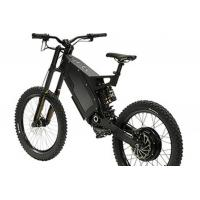 Buy cheap 8000 Watt Fat Stealth Bomber Electric Bike 80km / H Range 100km With Gps from wholesalers