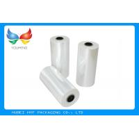 China 78% Shrinkage 40MIC Clear PET Plastic Shrink Film For Shrink Sleeve Labels Material wholesale