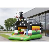China Commercial Jumping Outdoor Bouncy Castle PVC Cloth Materials Fine Workmanship wholesale