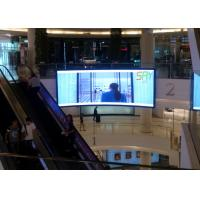 China P3 Advertising Curved LED Screens / concert led curved display High Brightness wholesale