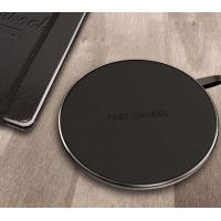 Buy cheap Black / White / Red Android / Iphone Samsung Galaxy Wireless Charging Pad from wholesalers