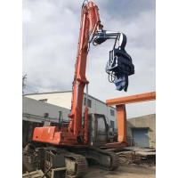 China No Pollution Hydraulic Sheet Pile Driver 2700kg Hammer Weight Easy Maintenance wholesale