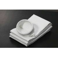 China 450GSM~550GSM Mining Polyester non-woven Needle Felt Aramid Filter Bag wholesale