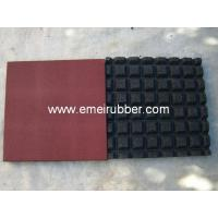 Quality rubber floor/safety playground rubber floor for sale
