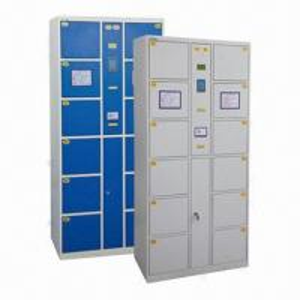 China 12-door Barcode/Storage Lockers with Thermal Print Barcode Slip wholesale