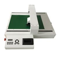 China Digital Flatbed Die Cutter For DIY  Cardboard Packing Box with Kiss Cutting and Full Cutting and Creasing on sale