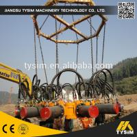 China KP15A Hydraulic Round Pump Crushing Piles Rock Breaker Machinery High Efficiency on sale