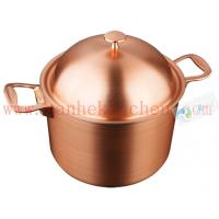 Buy cheap Titanium cookware casserole,thickness 1.5mm and diamter 20cm from wholesalers