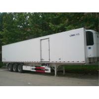 2 Or 3 Axle Refrigerated Cargo Trailer 35 Tons Capacity Customized Size