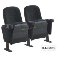 China Foldable Church Cinema Home Theater Seating Chairs With Flame Retardant Fabric wholesale