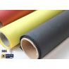 China Fiberglass Fabric Acrylic Coated Fire Welding Blanket Cloth Roll 0.45MM 260℃ wholesale