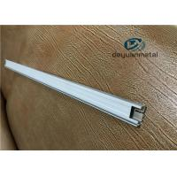 China 6 Inch Length Aluminum Alloy Profiles With Punching Deep Processing wholesale
