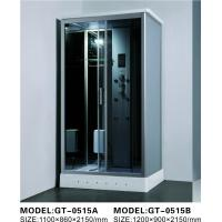 China Durable Walk In Steam Shower Cubicle , Jacuzzi Steam Shower Cabins With Seat wholesale
