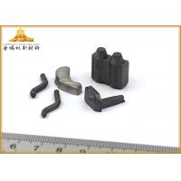 China Smooth Surface Tungsten Carbide Wear Parts Customized Size For Steel Machining wholesale