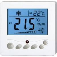 China 50/60Hz Frequency Fan Coil Unit Thermostat 100~240V With LCD Screen wholesale