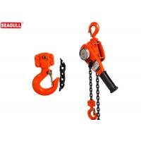 China Stainless Steel 3/4 Ton Chain Lever Hoist For Project , 1 Year Warrannty wholesale