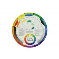 Buy cheap Paper Tattoo Color Wheel For Amateur Select Color Mix Tattoo Pigments Wheel from wholesalers