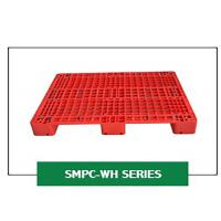 China Grid Steel Rackable Reinforced Plastic Pallets 1200*1000*150 Mm Single Injection Mould wholesale