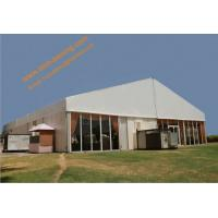 China Fireproof Assembled Mobile Aluminum Ceremony Party Tent Wind Resistant Event Marquees wholesale