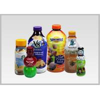 China PET Drink Bottle Labels , Recyclable Heat Shrink Wrapping Film For Packaging wholesale