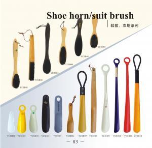 China hotel handled shoe horn/suit brush wholesale