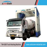 China Automatic Touch Free Heavy Duty Truck Washing Machine for conceret mixing plant on sale