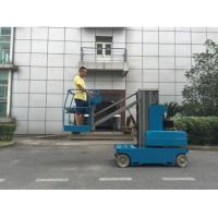 China Z4106 In Door & Out Door Use Self Propelled Single Person Man Lift , Boom Lift on sale